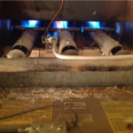 Furnace Repair Chicago- Cracked Heat exchanger.